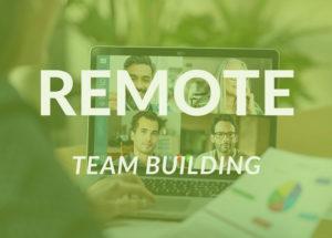 REMOTE Team Building Green Icon