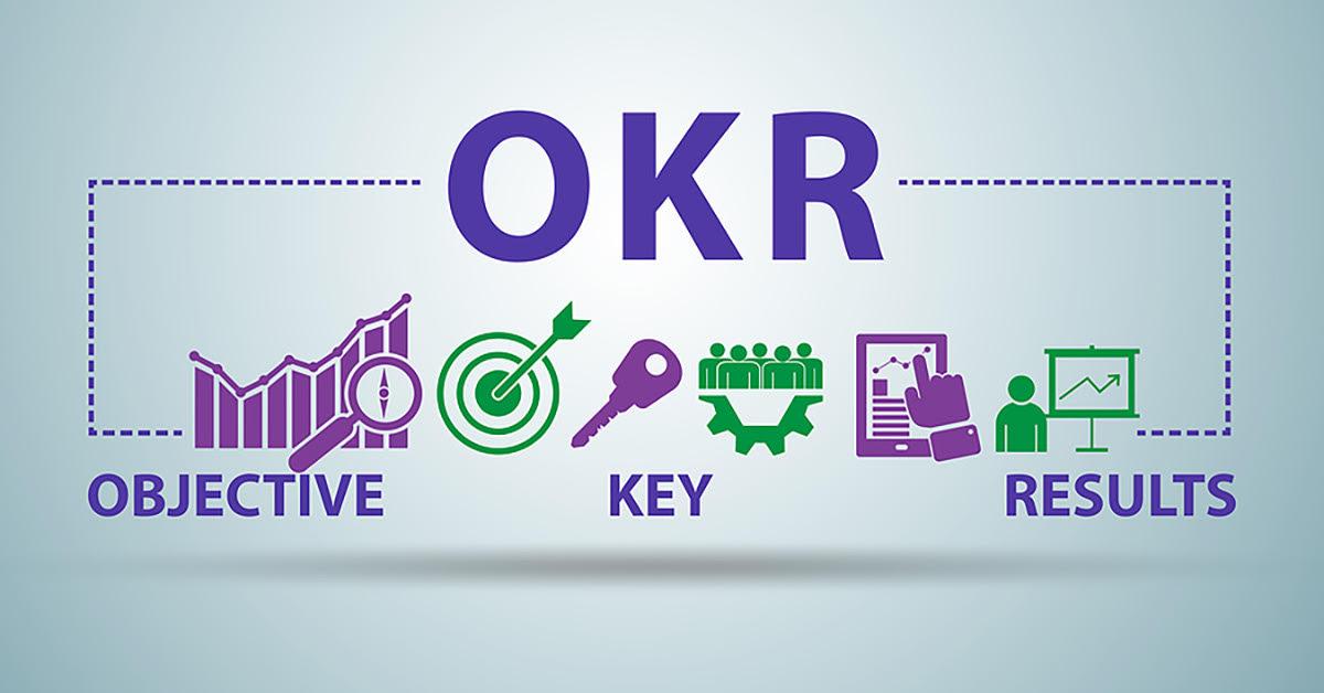 Objective key result OKR goals